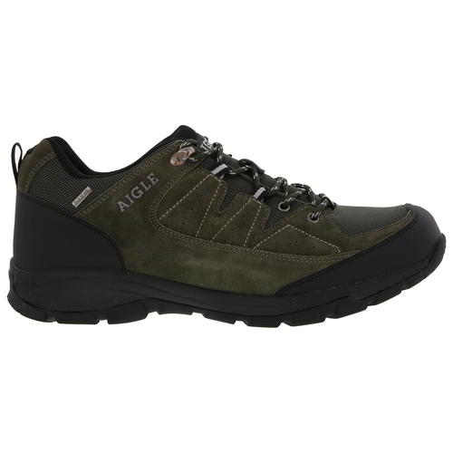 Aigle-Mens-Waterproof-Walking-Shoes-Vedur-Low-Green-Hiking-Trainers-Size-8-11 thumbnail 17