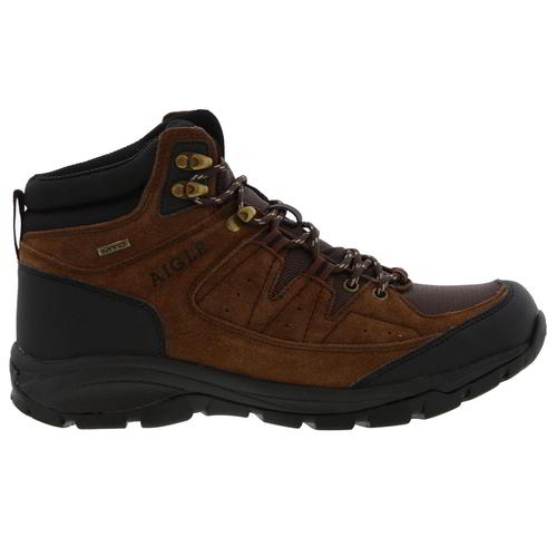 Aigle-Mens-Waterproof-Walking-Boots-Vedur-Mid-Brown-Hiking-Shoes-Size-8-11 thumbnail 9