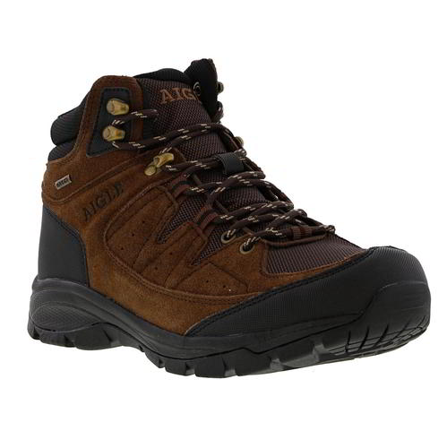 Aigle-Mens-Waterproof-Walking-Boots-Vedur-Mid-Brown-Hiking-Shoes-Size-8-11 thumbnail 15