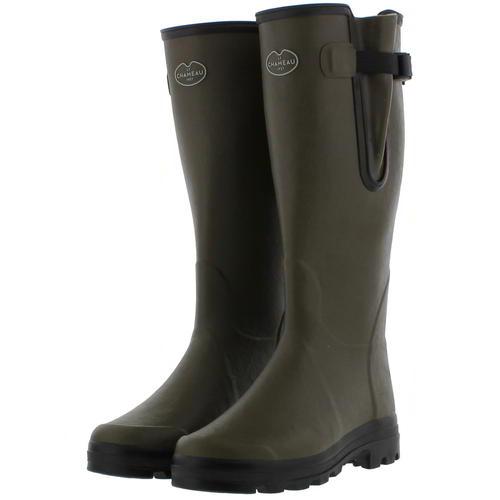 Le Chameau Mens Vierzon Jersey Vert Green Wellies Wellington Boots Size 7-11