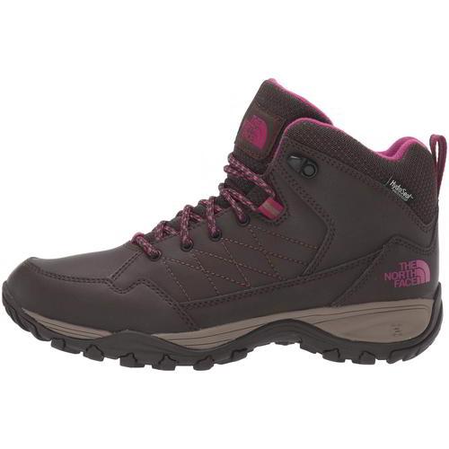 North Face Storm Strike Womens Ladies Brown Waterproof Walking Boots Size 8-13