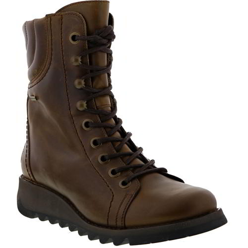Fly London Selt GTX Womens Ladies Waterproof Military Combat Boots Size 4-8