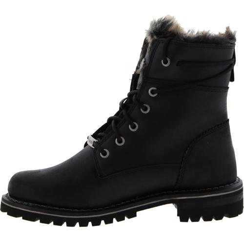 Harley Davidson Clearfield Womens Biker Military Motorcycle Ankle Boots