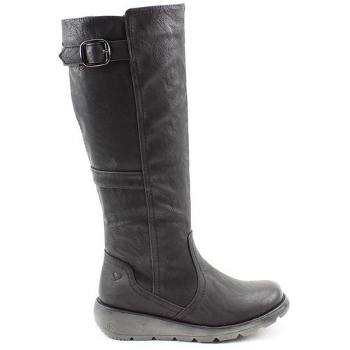 Ladies Heavenly Feet Saturn 2 Knee High Zip Up Boots