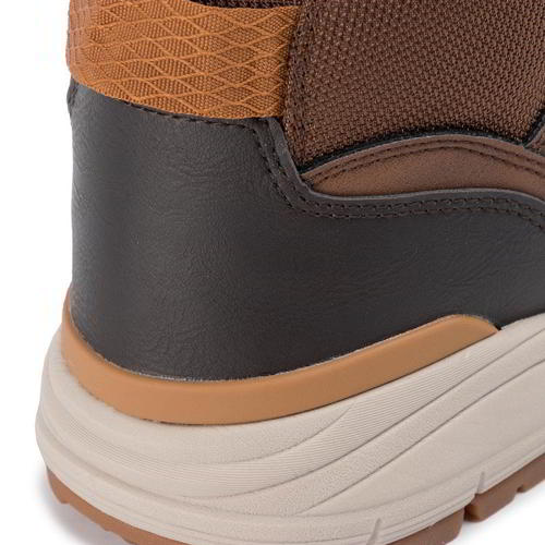 Details zu Skechers Volero Merix Mens Relaxed Fit Brown Chukka Walking Ankle Boots UK 6 12