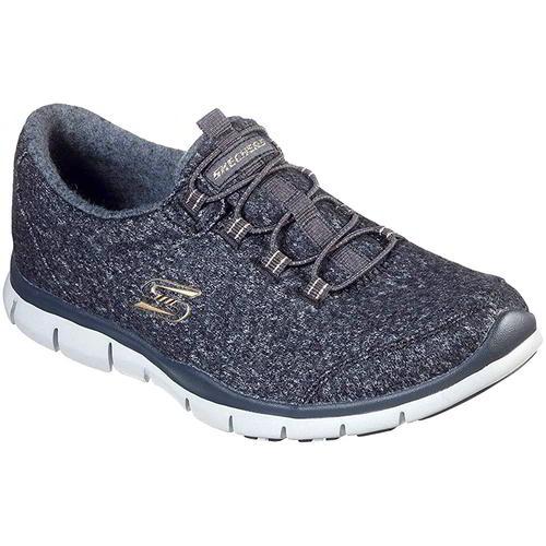 Skechers Gratis Womens Ladies Grey Slip
