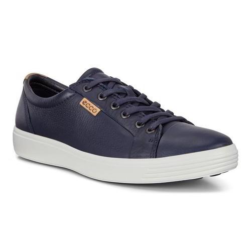 Ecco Shoes Soft 7 Mens Navy Soft