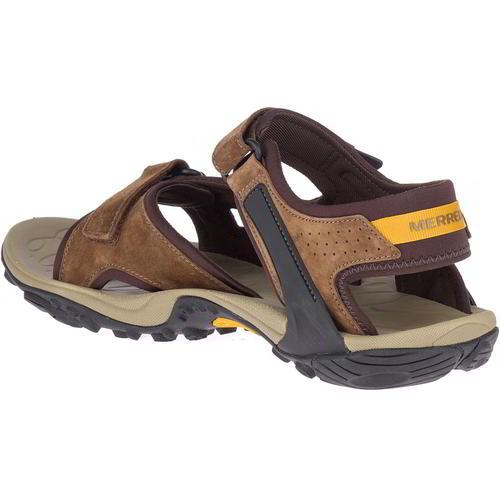 Merrell Kahuna 4 Homme Marron Réglable Walking Sandales Chaussures Taille UK 7-13