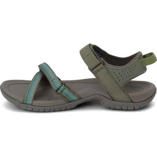 Green Teva Tirra Womens Sandals
