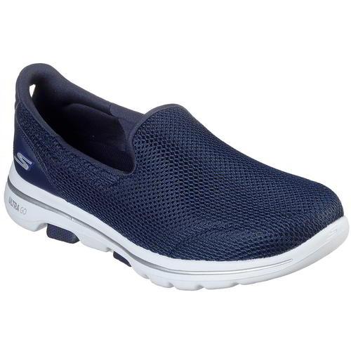 Skechers Go Walk 5 Womens Ladies Blue