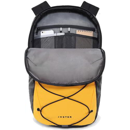 thumbnail 9 - North Face Jester Mens Womens Yellow Rucksack Backpack School Work Laptop Bag