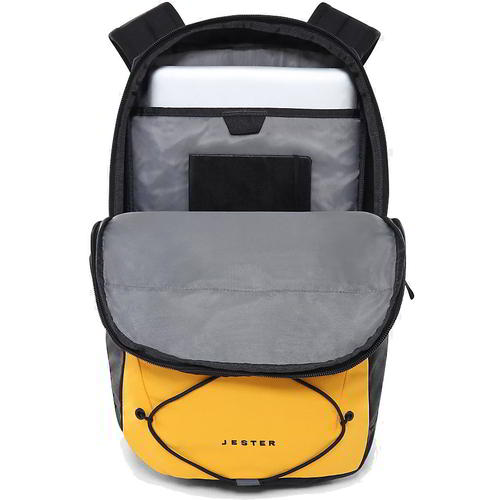 thumbnail 10 - North Face Jester Mens Womens Yellow Rucksack Backpack School Work Laptop Bag