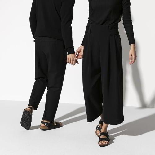 thumbnail 12 - Birkenstock Milano Regular Fit Mens Womens Black Sandals Size 3.5-14.5