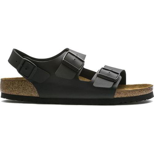 thumbnail 16 - Birkenstock Milano Regular Fit Mens Womens Black Sandals Size 3.5-14.5