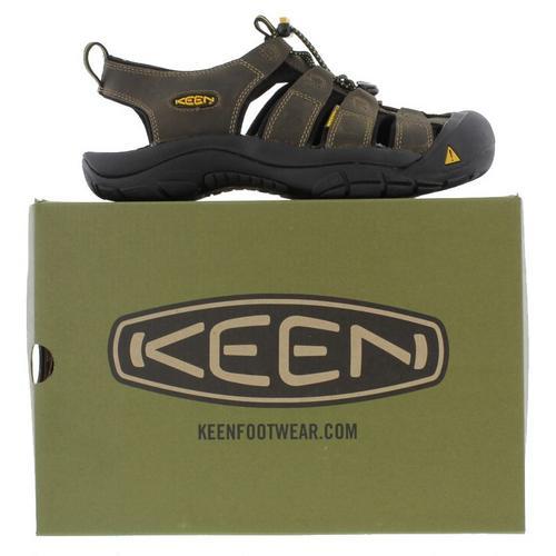 Keen-Newport-Mens-Brown-Walking-Hiking-Water-Sport-Sandals-Size-UK-7-14 miniatura 15