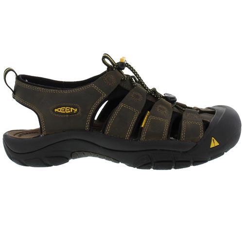 Keen-Newport-Mens-Brown-Walking-Hiking-Water-Sport-Sandals-Size-UK-7-14 miniatura 16