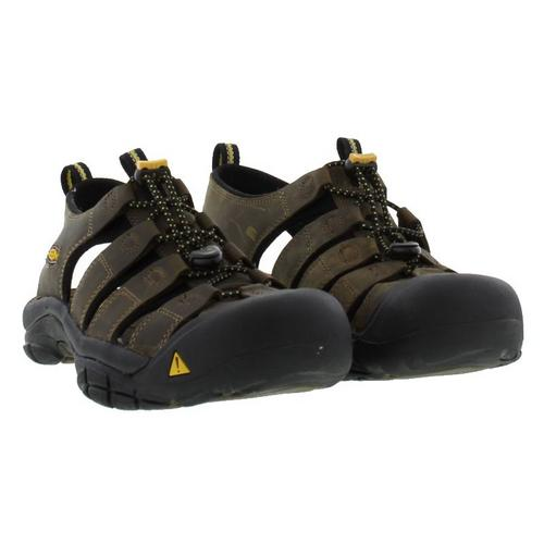 Keen-Newport-Mens-Brown-Walking-Hiking-Water-Sport-Sandals-Size-UK-7-14 miniatura 8