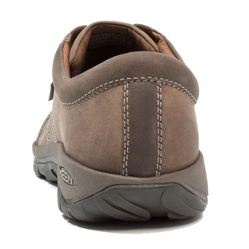 Keen-Austin-Mens-Brown-Leather-Walking-Shoes-Size-UK-8-13 miniatura 16