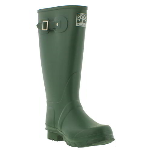 Wellies Boots Height 40 cm Rain Boots Green Size 40 to 46 to choose from
