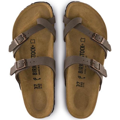 thumbnail 15 - Birkenstock Mayari Brown Regular Fit Womens Ladies Toe Post Sandals Size 3-8