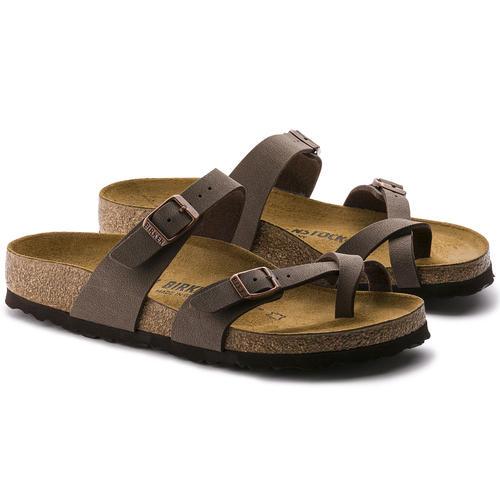 thumbnail 16 - Birkenstock Mayari Brown Regular Fit Womens Ladies Toe Post Sandals Size 3-8