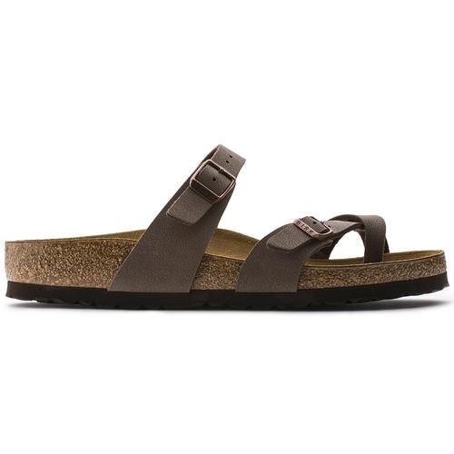 thumbnail 17 - Birkenstock Mayari Brown Regular Fit Womens Ladies Toe Post Sandals Size 3-8