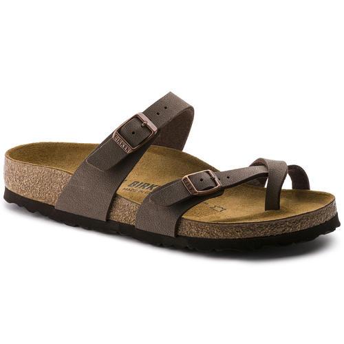thumbnail 23 - Birkenstock Mayari Brown Regular Fit Womens Ladies Toe Post Sandals Size 3-8