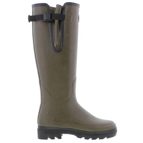 Le Chameau Womens Ladies Giverny Green Wellies Wellington Boots Size 4-7