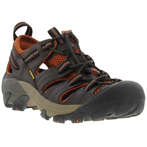 Keen-Arroyo-II-Mens-Dark-Brown-Waterproof-Walking-Hiking-Water-Sandals-Size-8-14 miniatura 10