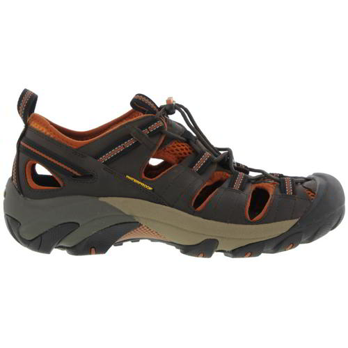 Keen-Arroyo-II-Mens-Dark-Brown-Waterproof-Walking-Hiking-Water-Sandals-Size-8-14 miniatura 9