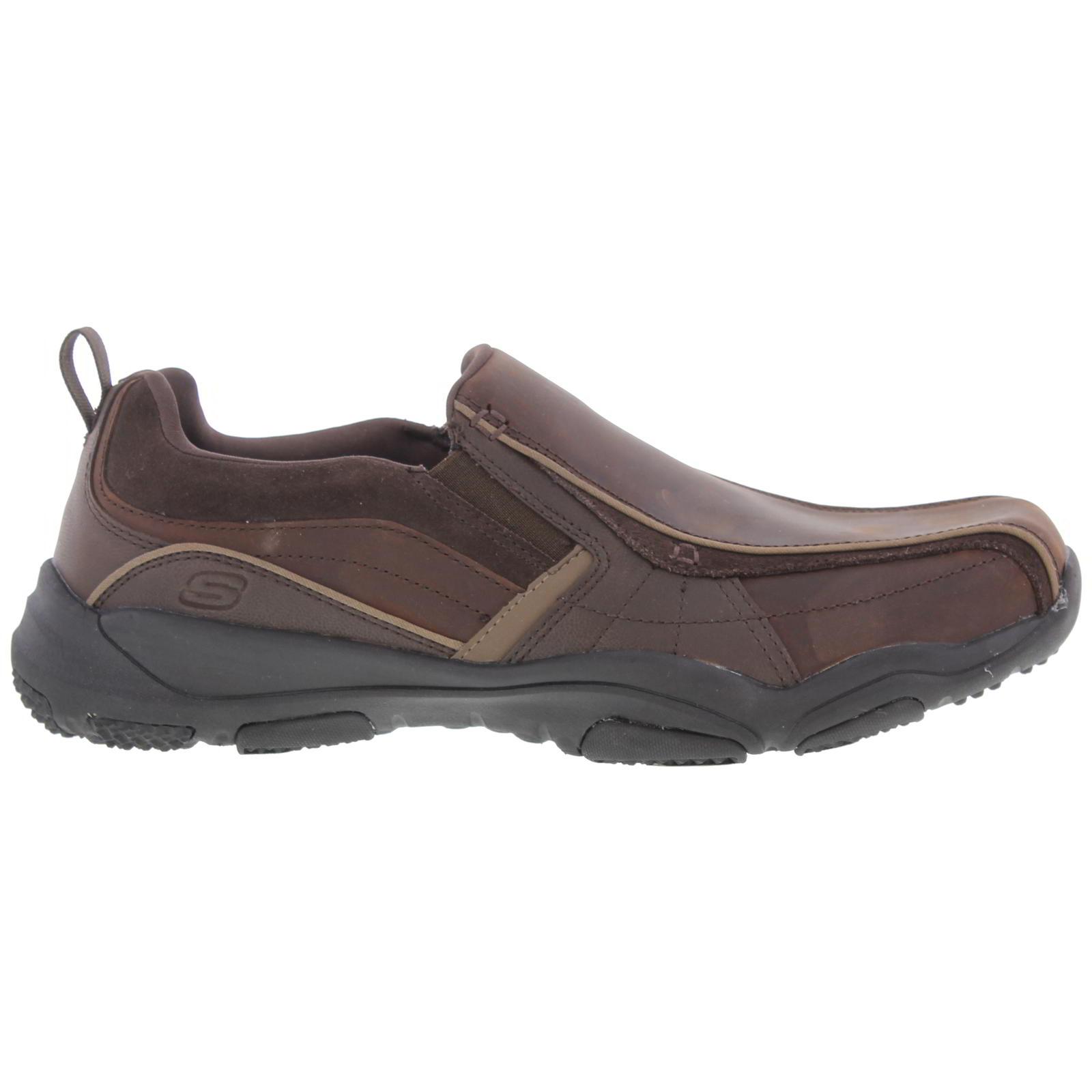 Skechers Work Slip Resistance Womens Black Leather Memory Foam Sz 8.5 M To Ensure Smooth Transmission Women's Shoes
