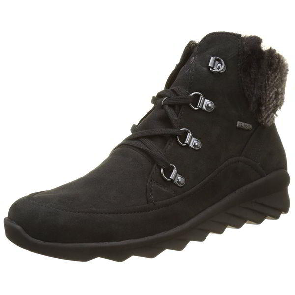 Romika Apollo 05 Womens Waterproof Synthetic Black Suede Ankle Boots Size 4-8