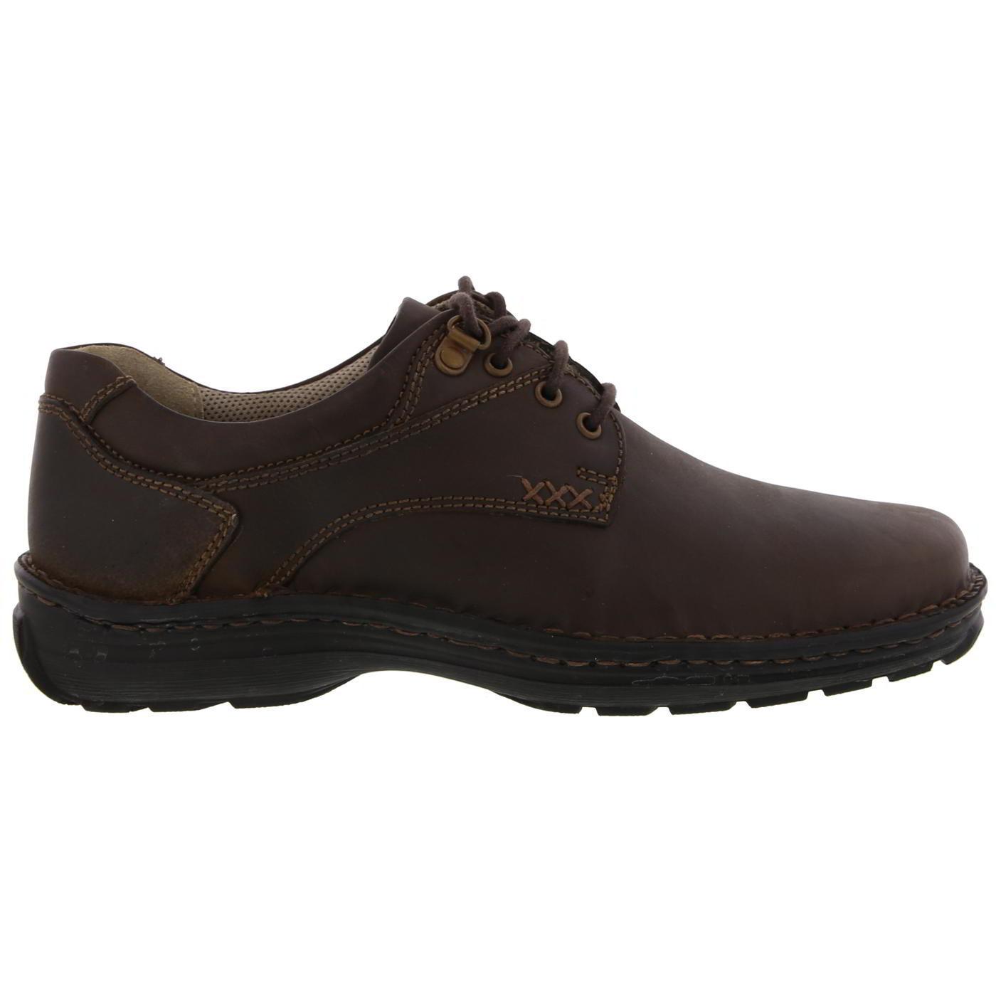 3884fd9e1a9 Detalles de Hush Puppies geografía para Hombre Marrón Zapatos Con Cordones  Cuero Ajuste Ancho Talla 6-14 UK- ver título original