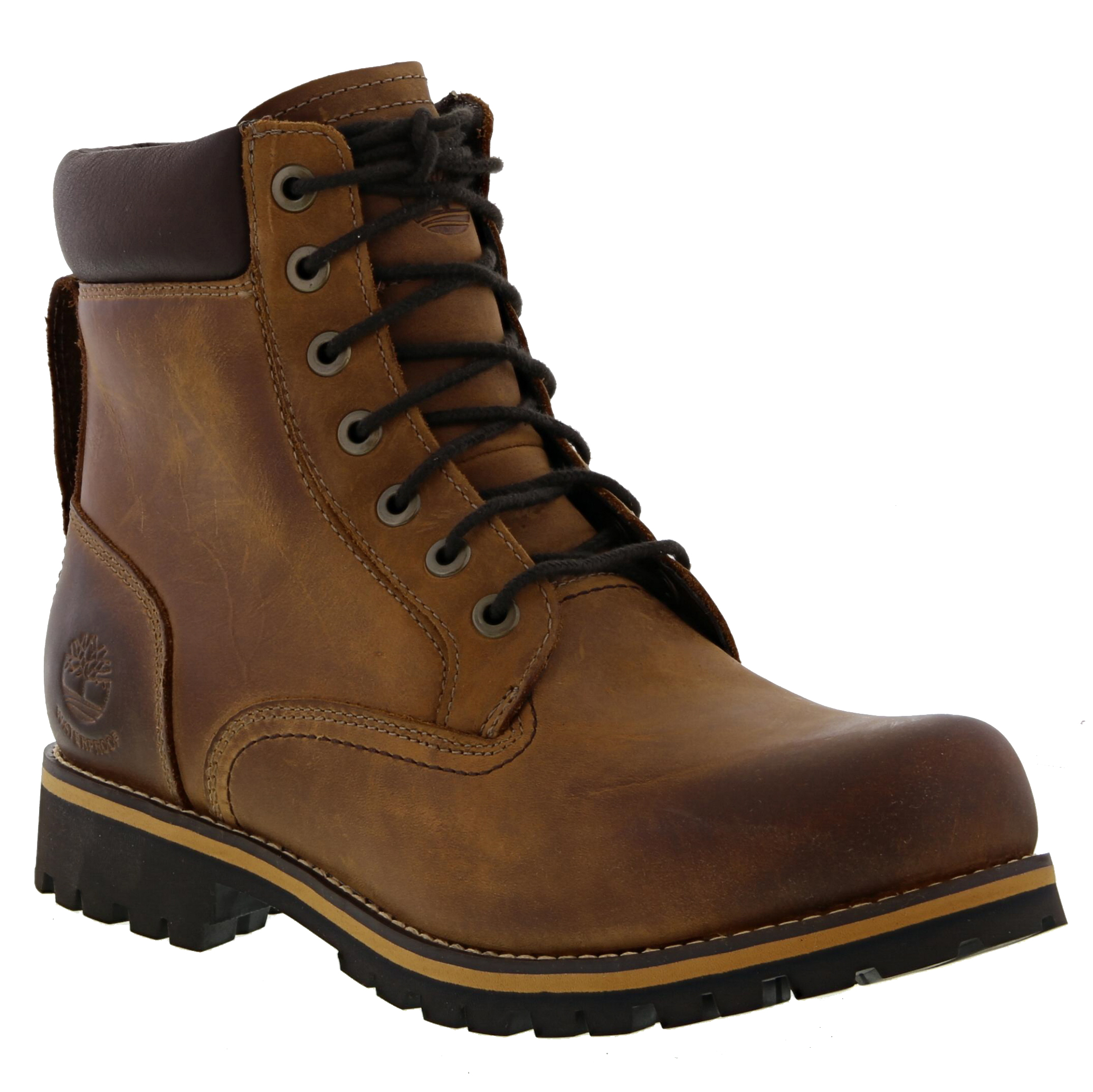 TIMBERLAND EARTH KEEPER Rugged 6 Inch Mens Waterproof Boots Size UK 7 14.5