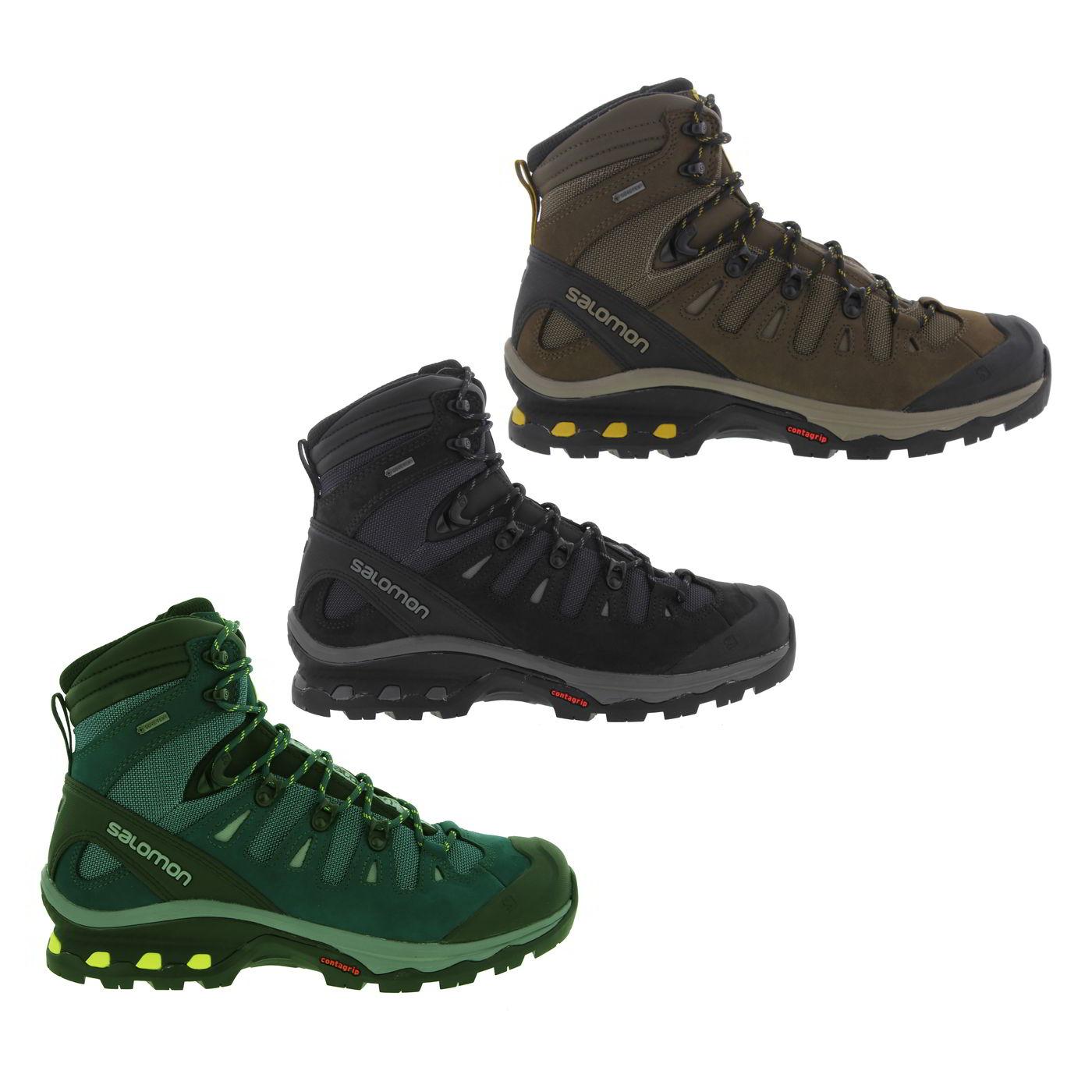 Salomon Quest 4d 3 Gtx Walking Boots Mallard Blue
