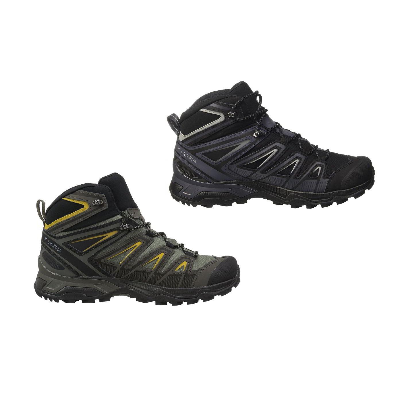 65bde289bf8 Detalles de Salomon Ultra 3 Mid Gtx Para Hombre X Gore-Tex Impermeable  Caminar Botas Zapatos Talla 8-12- ver título original