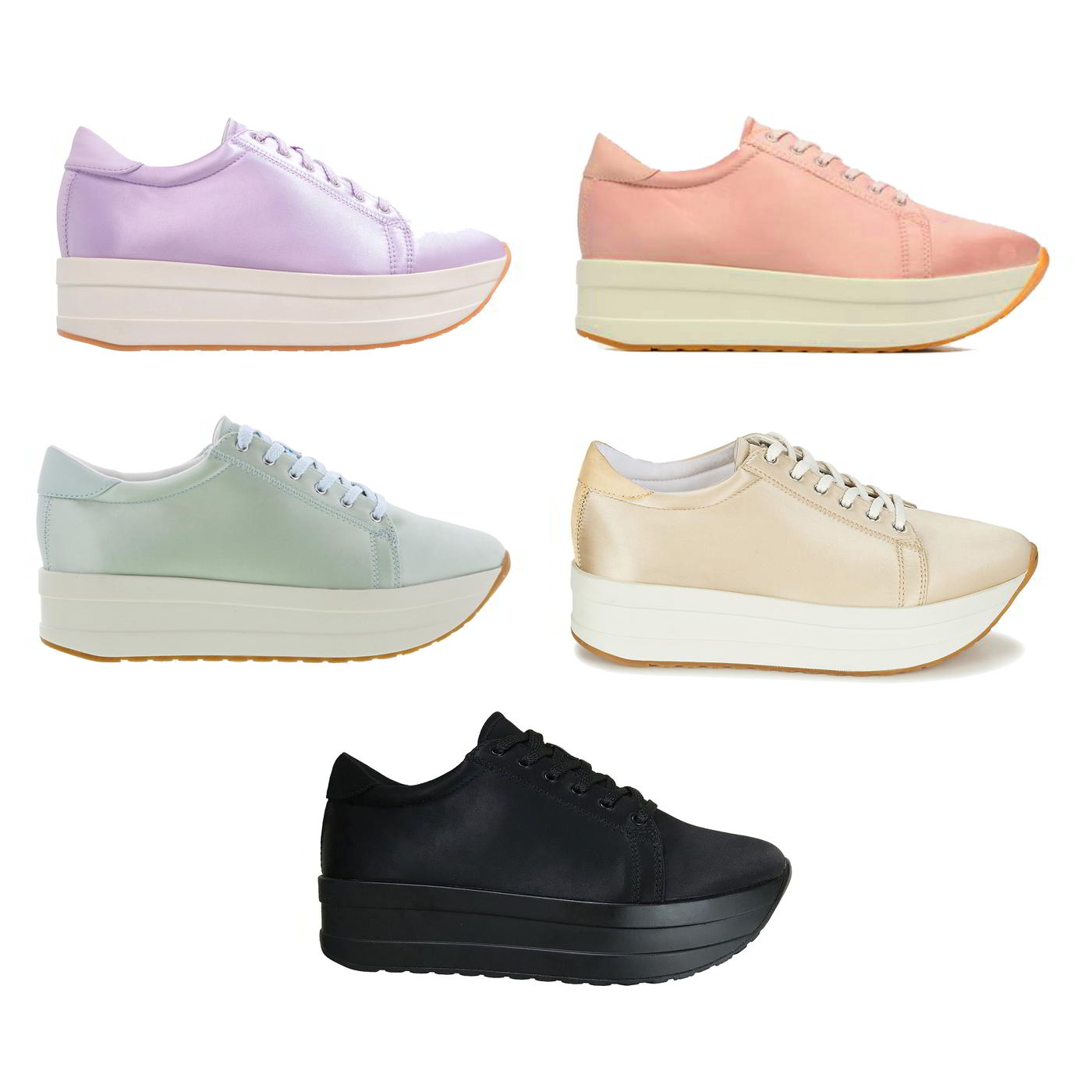 Vagabond Casey Womens Chunky Platform Trainers Shoes Size