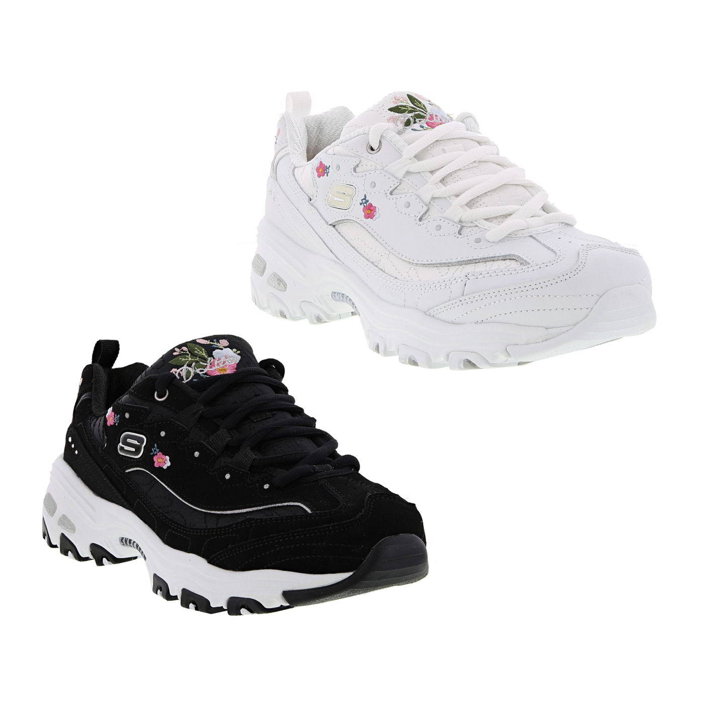 Womens Trainers Chunky Ladies Platform Blossoms Lites D Skechers TkuZiOXP