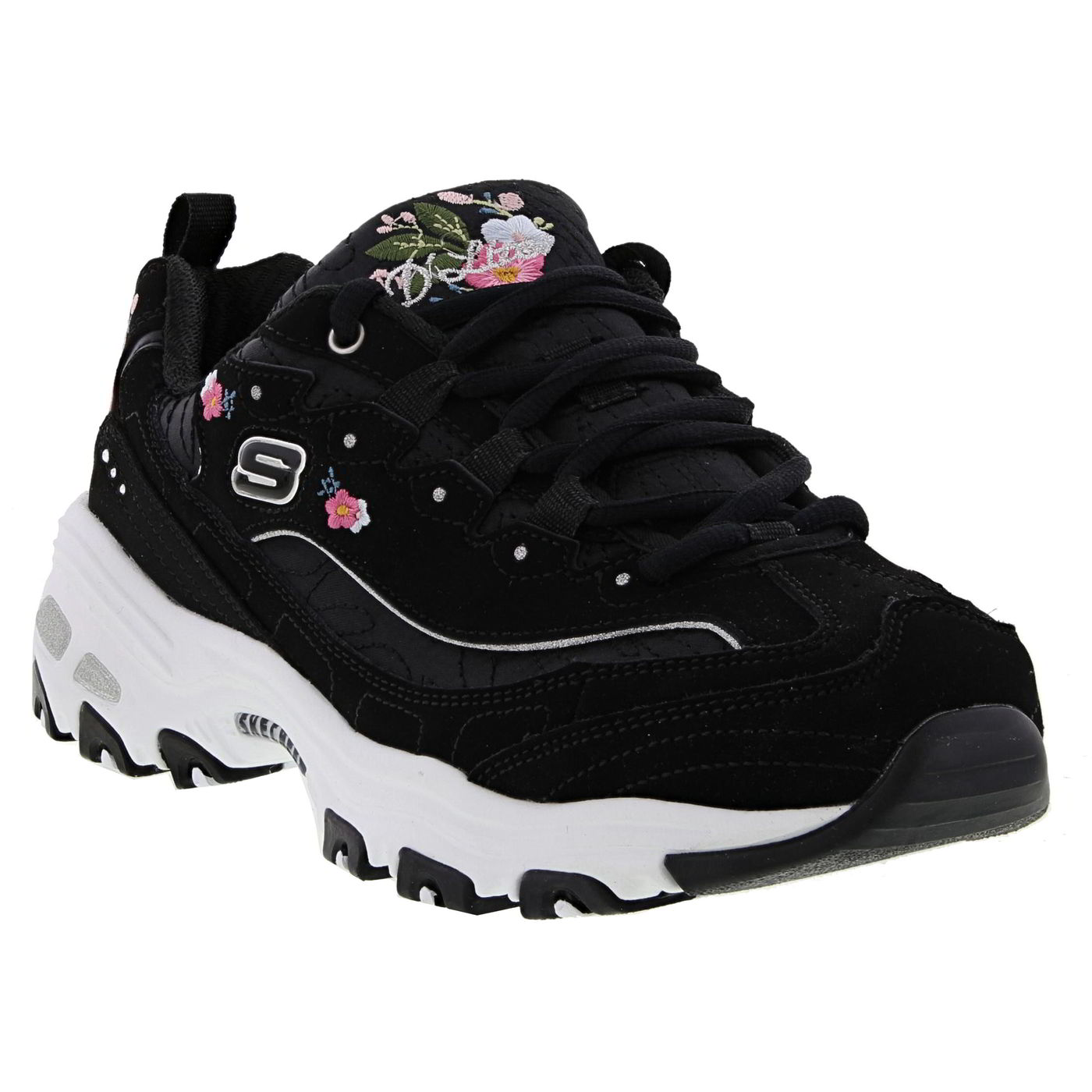 Skechers D Lites Me Time Womens Ladies Chunky Platform Trainers Shoes Sizes 4-8
