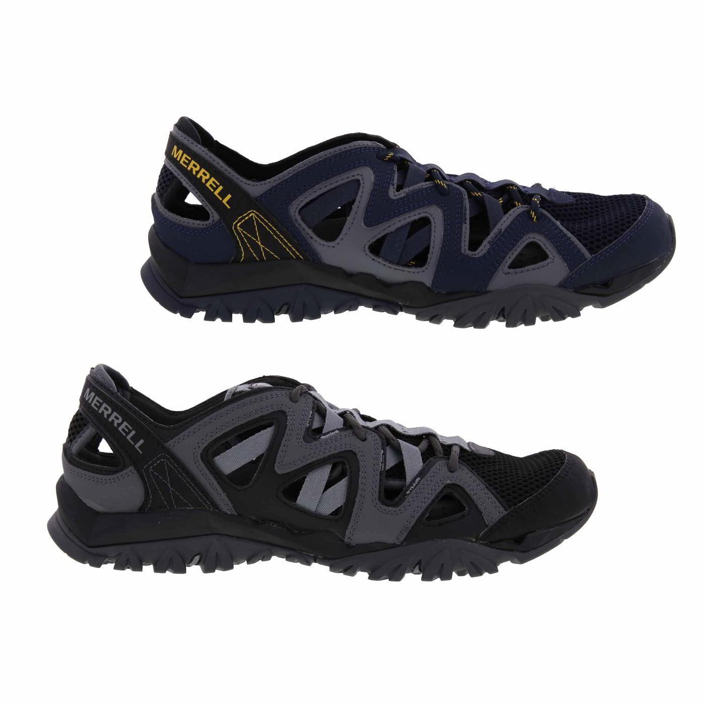 bb2721ffff2b Detalles de Merrell tetrex Crest Envoltura Para Hombre Transpirable Caminar  Sandalias Tamaño 8-11 Zapatos de agua- ver título original