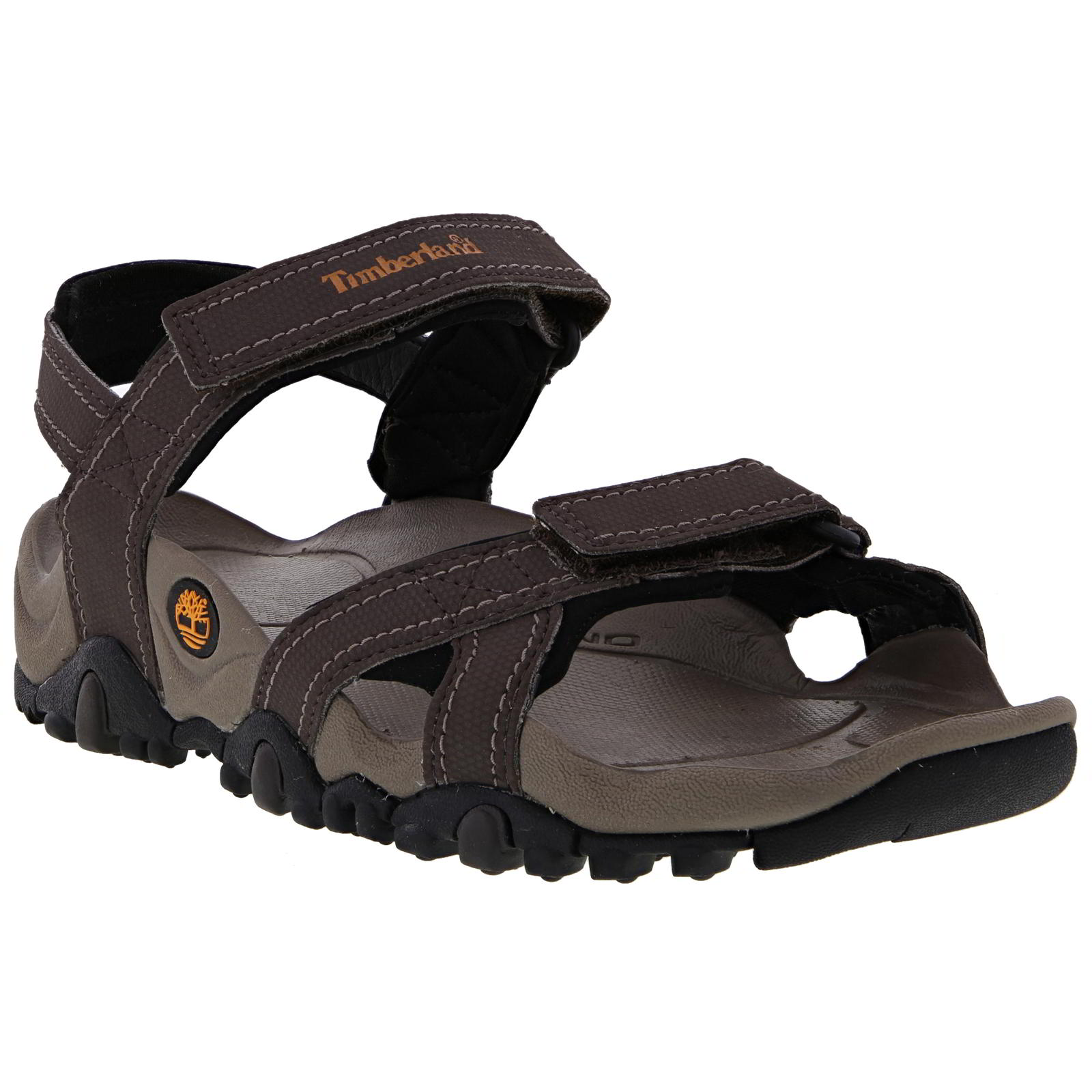 0086674d1 Details about Timberland Sandals Mens Granite Trail Series Brown Adjustable  Shoes Size 7.5-12