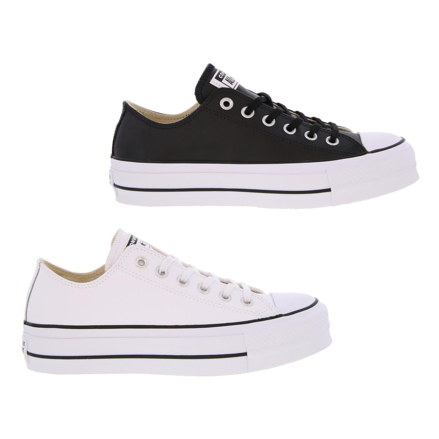 f174eff8e46805 Details about Converse All Star Low Womens Lift Ox Platform Chunky Shoes Trainers  Size 4-8