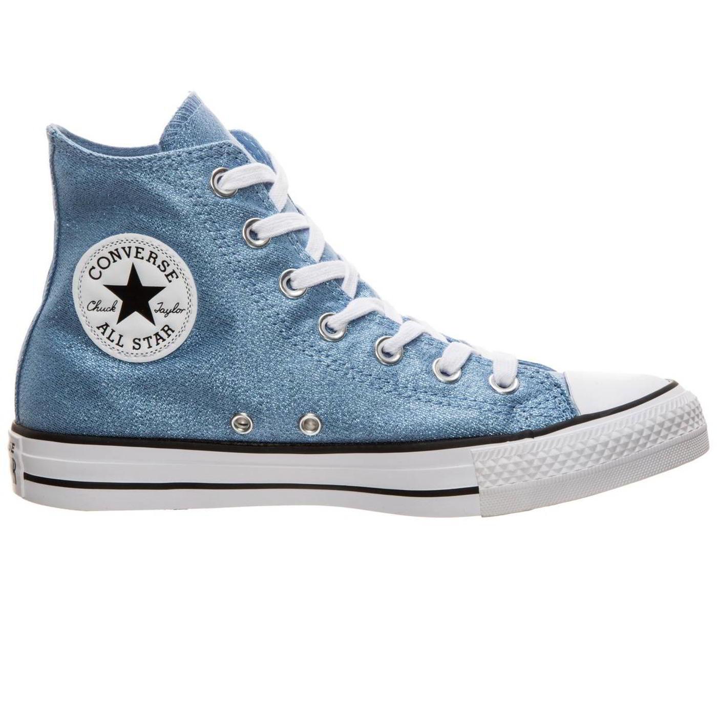 all stars converse femme bleu