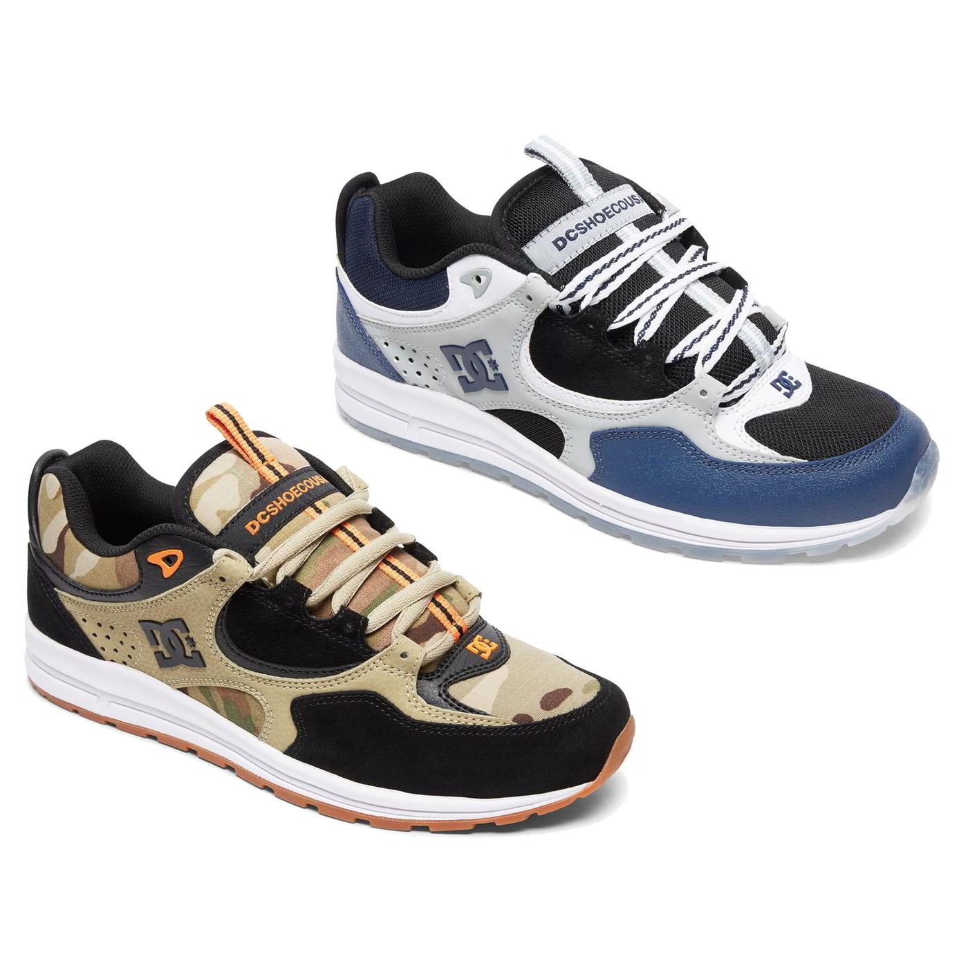 buy online da108 87043 Détails sur DC Shoes Kalis Lite se Homme Bleu & Camouflage Chaussures De  Skate Baskets Taille 8-12- afficher le titre d'origine
