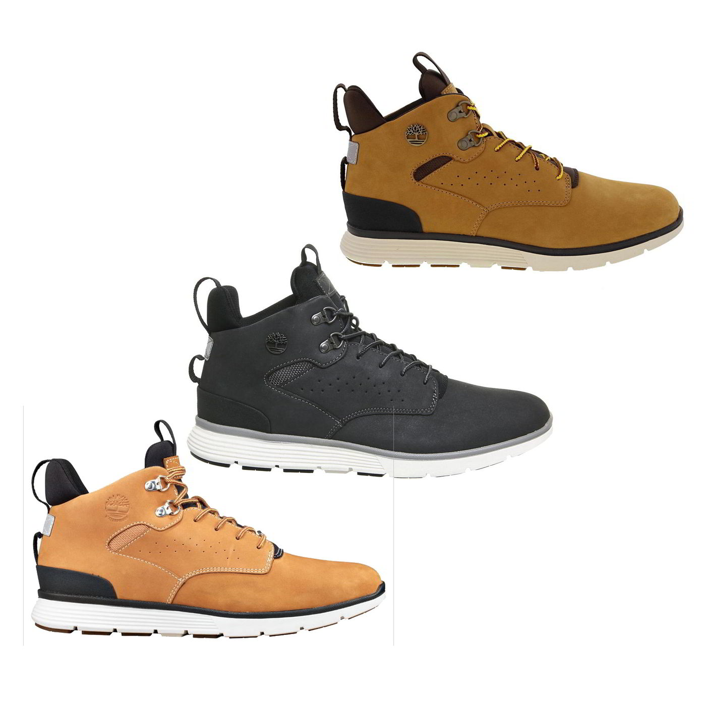 8a0541eb39bad5 Details about Timberland Killington Hiker Chukka Mens Wide Fit Wheat Grey Boots  Size UK 7-11