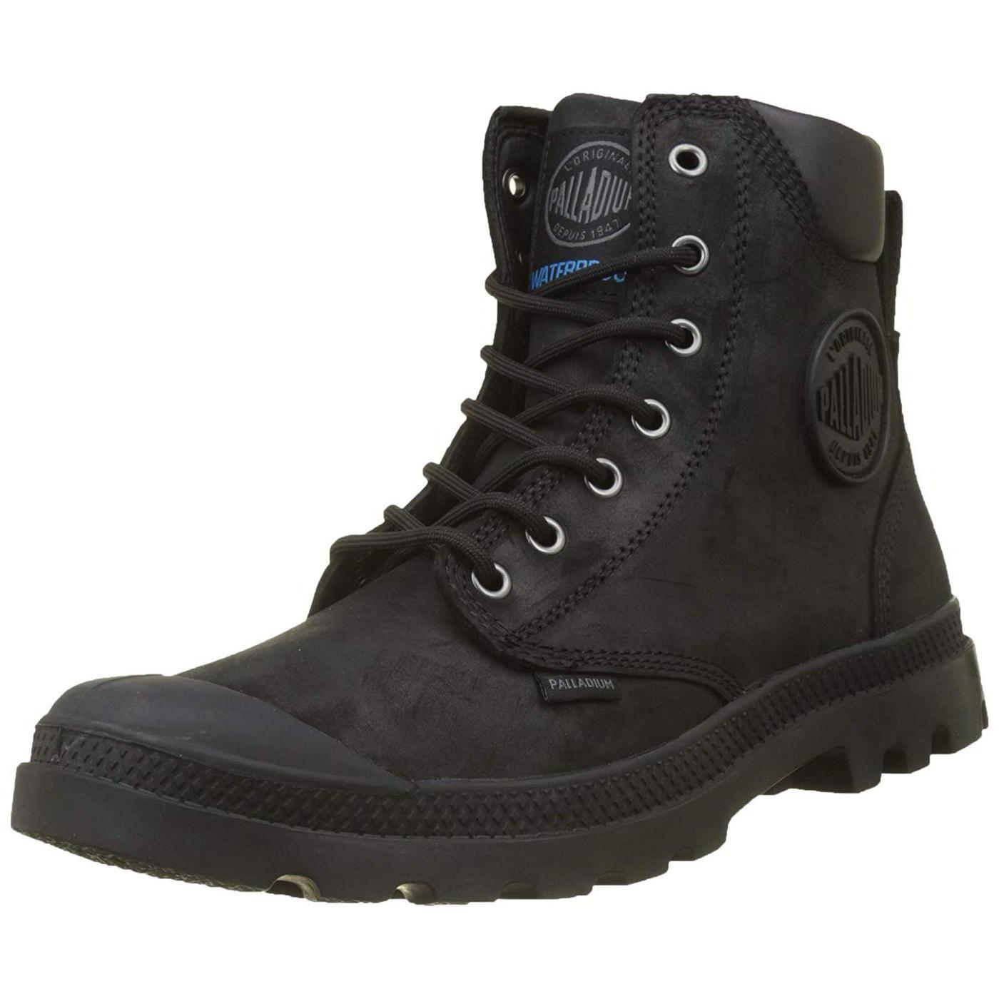 Palladium Pampa Hi Cuff WP Mens Waterproof Lux Combat Ankle Boots Size 8-11