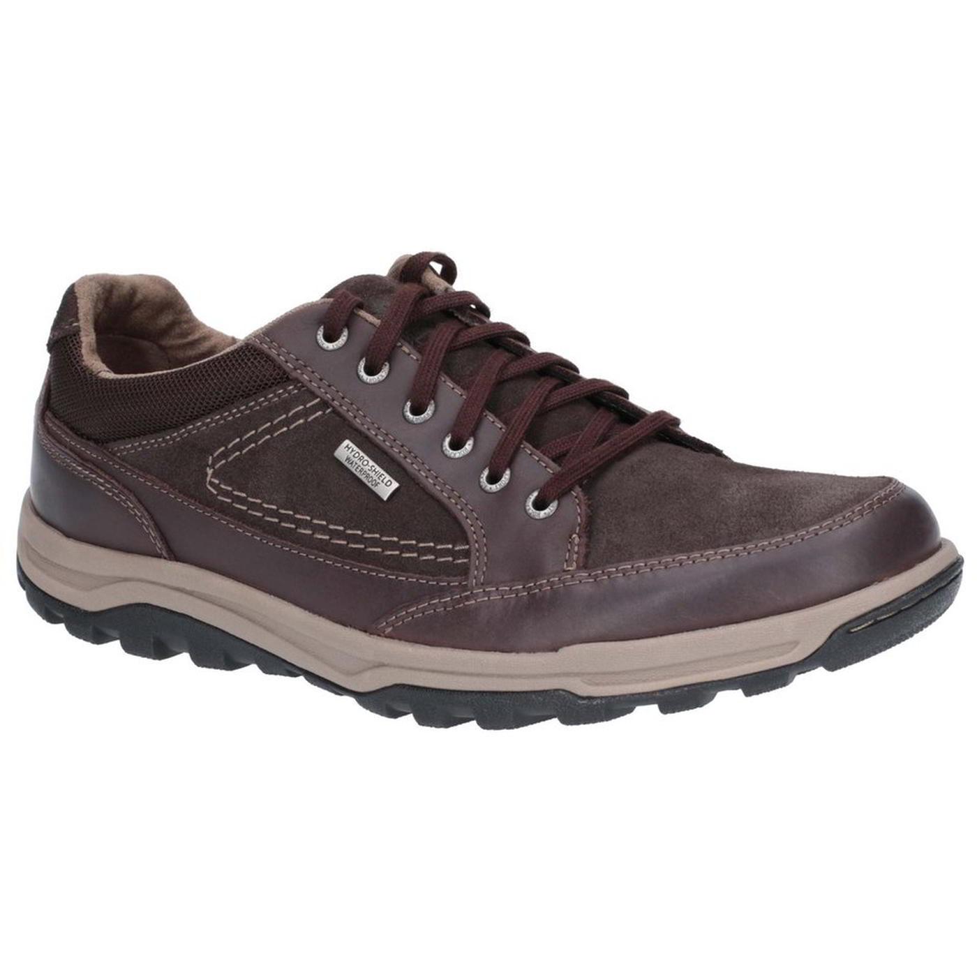 cda7a0cd46d Détails sur Rockport Trail Imperméable Homme En Cuir Marche Baskets  Chaussures Taille 8-11- afficher le titre d origine