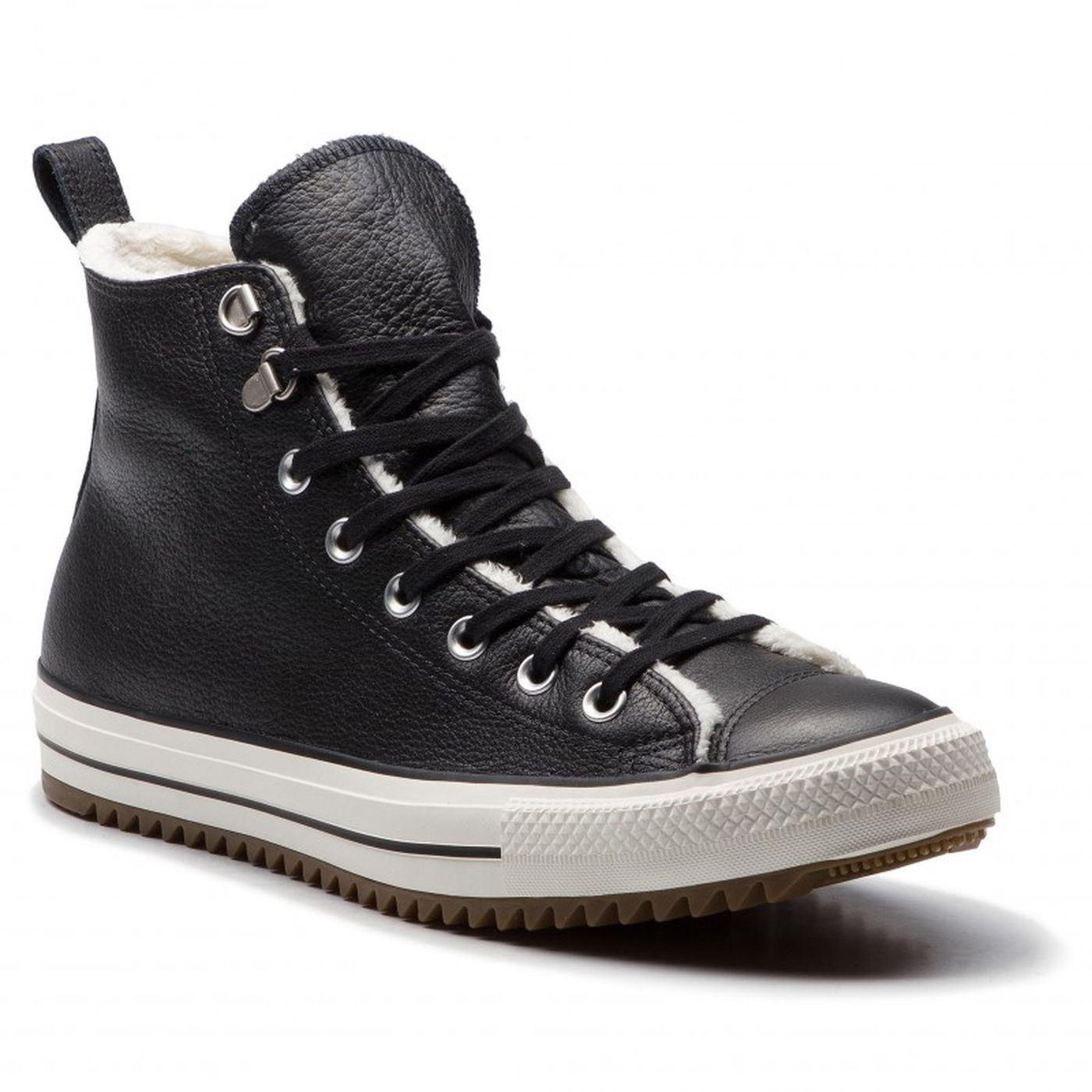 8d4af030d8812 Converse All Star Hiker Womens Ladies Leather Hi Top Boots Shoes ...