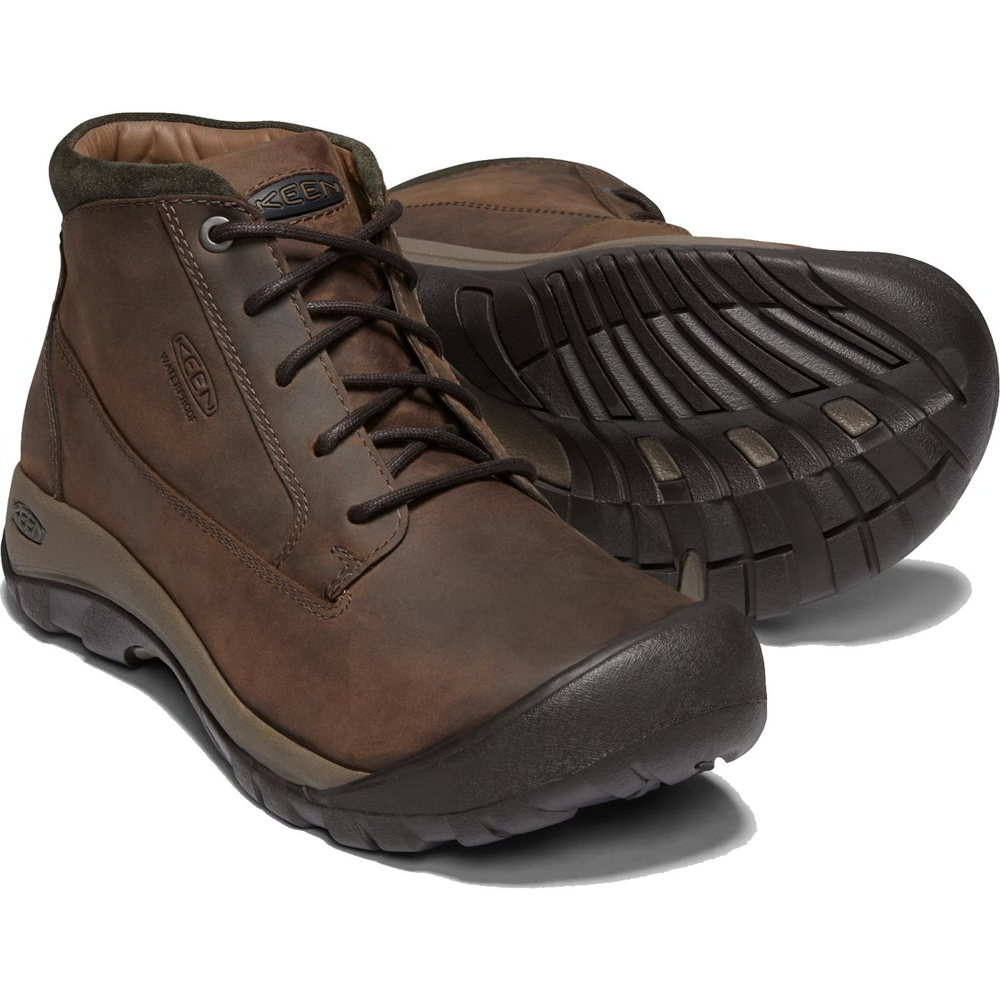 880e65270da7 Details about Keen Austin Casual Mid Mens Waterproof Leather Walking Hiking  Boots Size 8-11