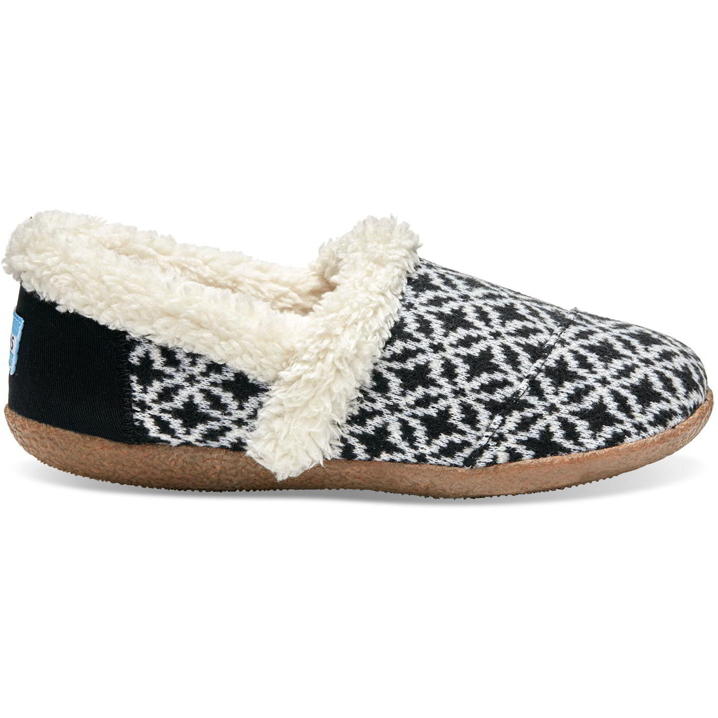 e50a5997dc Details about Toms House Slipper Womens Ladies Vegan Indoor Outdoor Slippers  Shoes Size 4-8